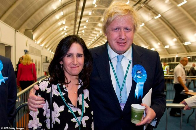 Marina Wheeler married Boris married on May 8, 1993 - just 12 days after his divorce from Allegra was finalised on April 26. (The pair are pictured in 2015)
