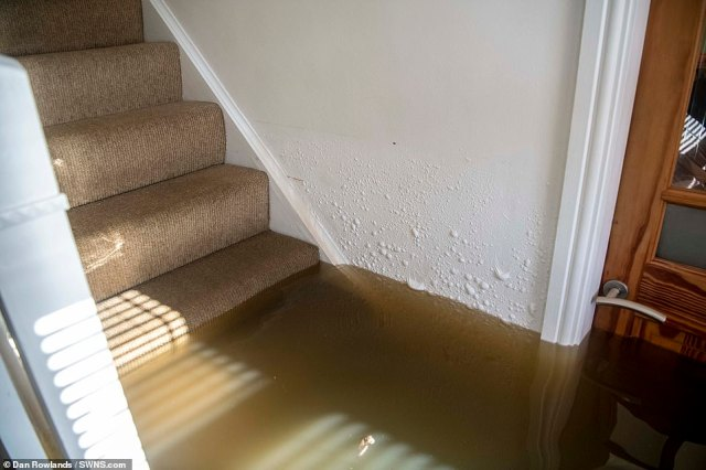 East Riding of Yorkshire Council said water levels are generally dropping or remaining stable in Snaith (pictured), Gowdall, East Cowick and West Cowick, but are expected to remain high for several days
