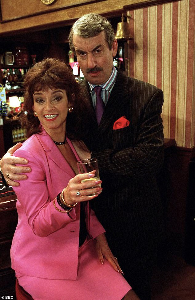 Guest stars: Other characters in attendance were Boycie and Marlene - played by John Challis and Sue Holderness - who ended up with their own spin-off series, The Green Green Grass