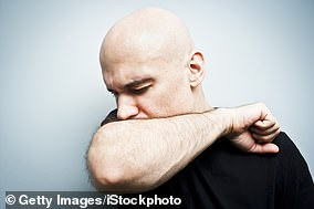 If they don't have a tissue at hand, sneezing or coughing into the crease of the elbow is better than doing it onto hands