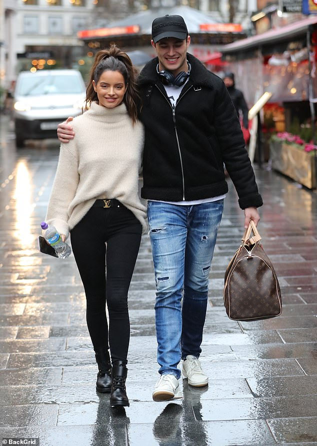Not meant to be:'Most of her family and close friends are in Ireland, which will make this time even more difficult for her' the source told MailOnline (Pictured on January 15)
