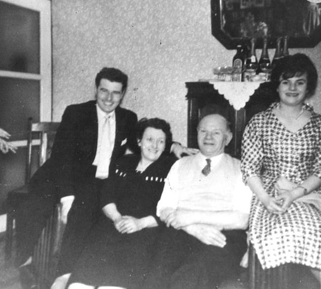 Picture shows Richard Moran, Amy Minton, Arthur Minton and Gill Moran