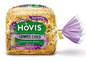 Hovis Lower Carb seeded breadhas 30 per cent fewer carbs than an ordinary seeded loaf