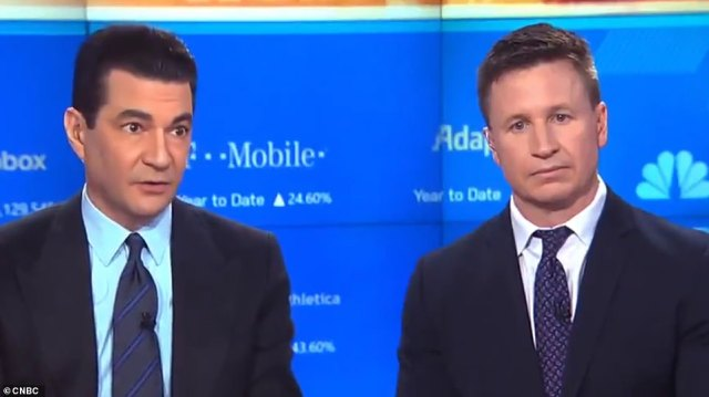 Dr Matt McCarthy (right), who works atthe New York-Presbyterian Hospital in Manhattan,warned coronavirus cases in the U.S. will surge into the thousands by next week.Scott Gottlieb(left), who is the former commissioner of the FDA, said three critical weeks were lost in trying to contain the spread of coronavirus in the U.S. because of the faulty tests