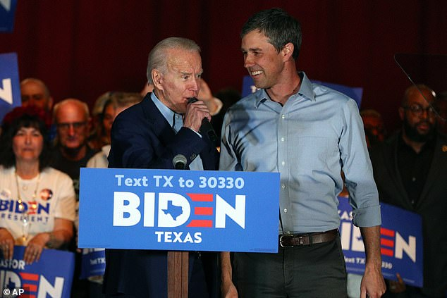 Beto O'Rourke praised Biden as the man who could beat Donald Trump