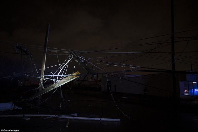 Nearly 16,000 Nashville Electric Service customers suffered power outages after a tornado knocked out service lines