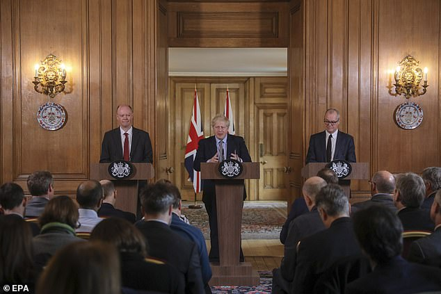 Prime Minister Boris Johnson today launched the government's plan to combat the coronavirus in a press conference at Downing Street