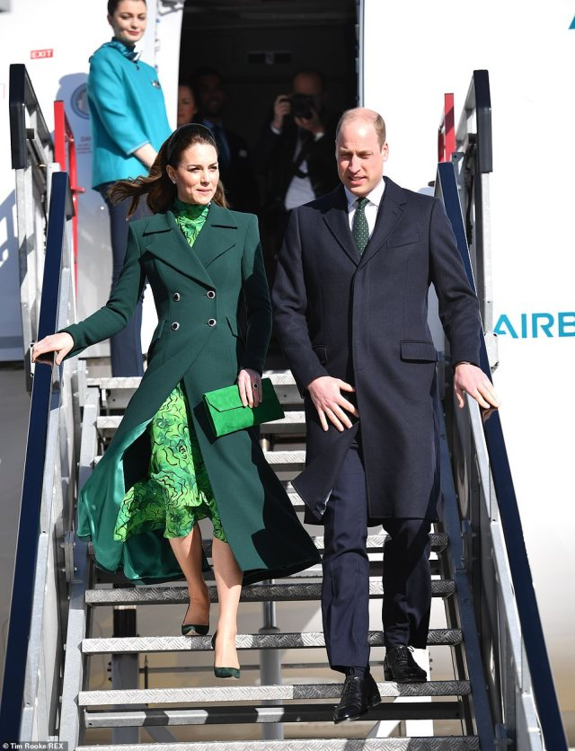 The timing of the visit means William and Kate will not be able to join Prince Harry and Meghan Markle at the Endeavour Awards in London. William attended the first ceremony but has not been for the last two years
