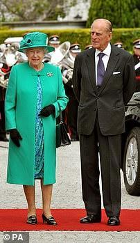 The Queen's green dress in 2011