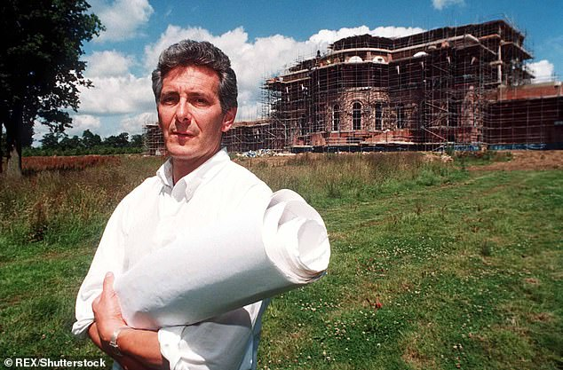 In the 80s, Mr von Hessen began constructing mega-mansion Hamilton Palace on the former site of High Cross House nursing home