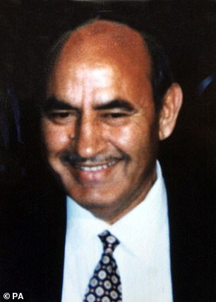 In 1999, one of his business partners Mohammed Raja (pictured) was killed by two thugs Mr von Hessen had hired
