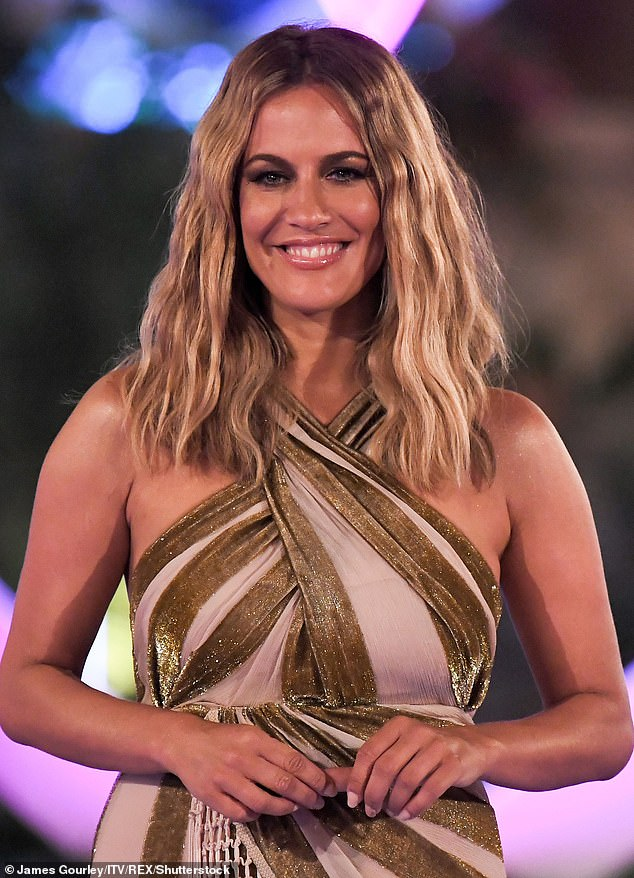 The Love Island host (pictured) killed herself on February 15 just one day after she found out the Crown Prosecution Service was pursuing the court case against her