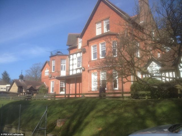 The prep school, St Edmund's in Hindhead, Surrey, (pictured) confirmed that the parents of one of their pupils had the virus