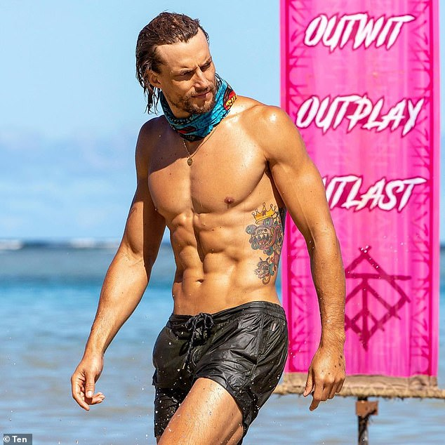 'It takes a big toll': Australian Survivor's David Genat (pictured) revealed he completely lost his sex drive due to the harsh living conditions while filming the grueling reality series on the P.S. with Phoebe and Sarah podcast