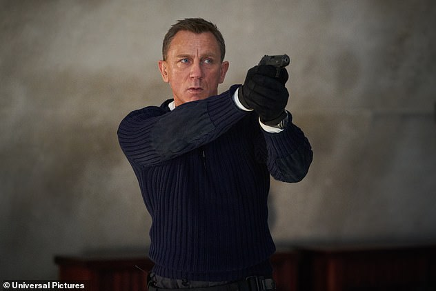 Not happening: Craig has confirmed his next James Bond film will be his last, dismissing claims that he 'isn't ready' to walk away from the long-running franchise