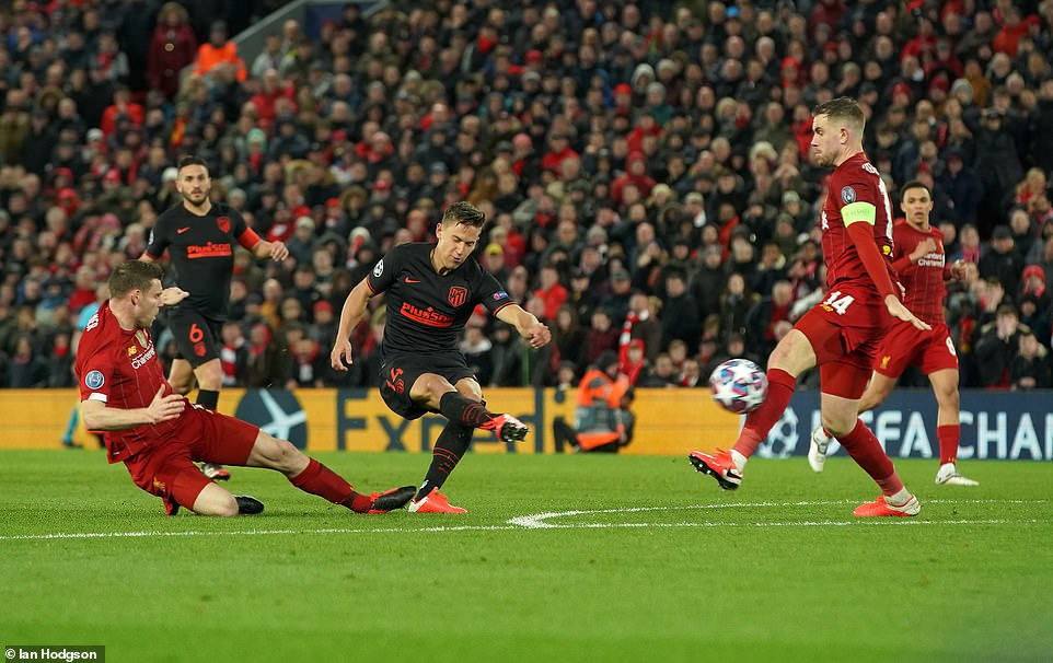 Liverpool 2-3 Atletico Madrid (2-3 agg): Những người nắm giữ cú ...