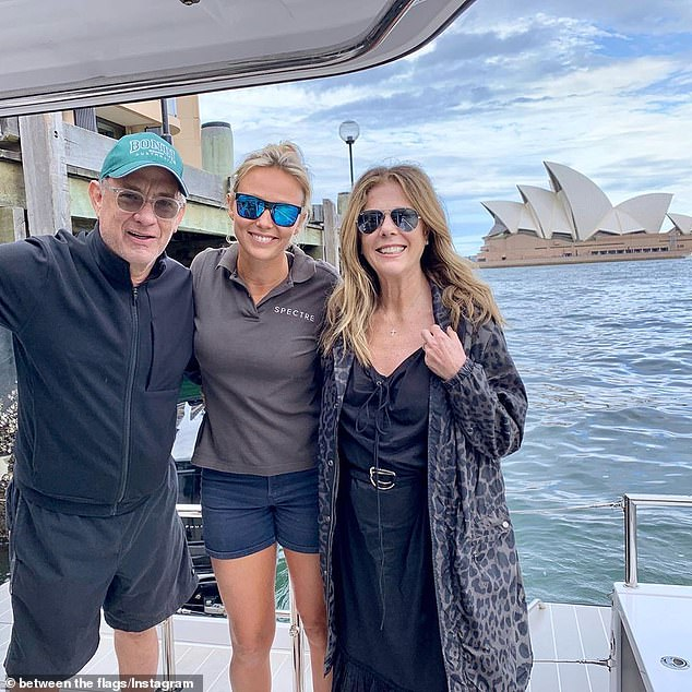 Picture perfect! A fan got a photo with the couple in Sydney earlier this week
