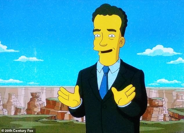 They've done it again: Fans of The Simpsons believe that the show predicted actor Tom Hanks would be struck with the coronavirus