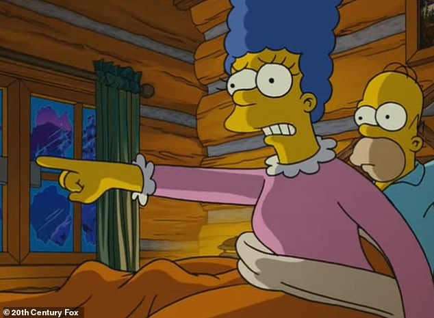 Another day, another prediction: While the theory is somewhat of a stretch, hardcore fans of the show are happily adding this to the ever-growing list of Simpsons predictions