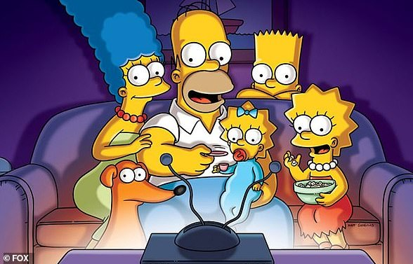 Mystic Marge... Maggie, Homer, Lisa and Bart:The iconic animated TV show has been known to foresee major world events