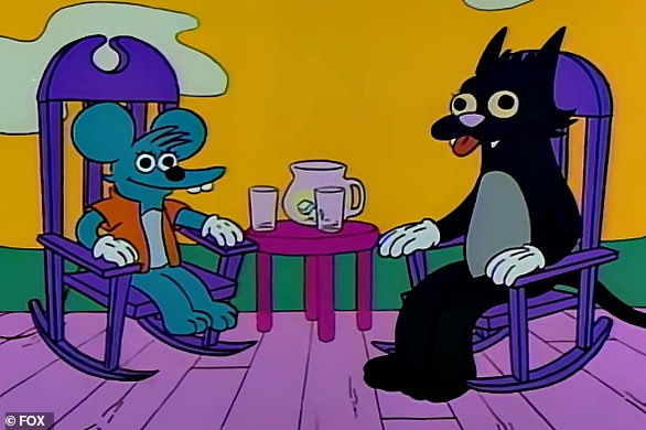 Censored! Marge's Itchy & Scratchy tirade foreshadowed a real-life protest against fine art