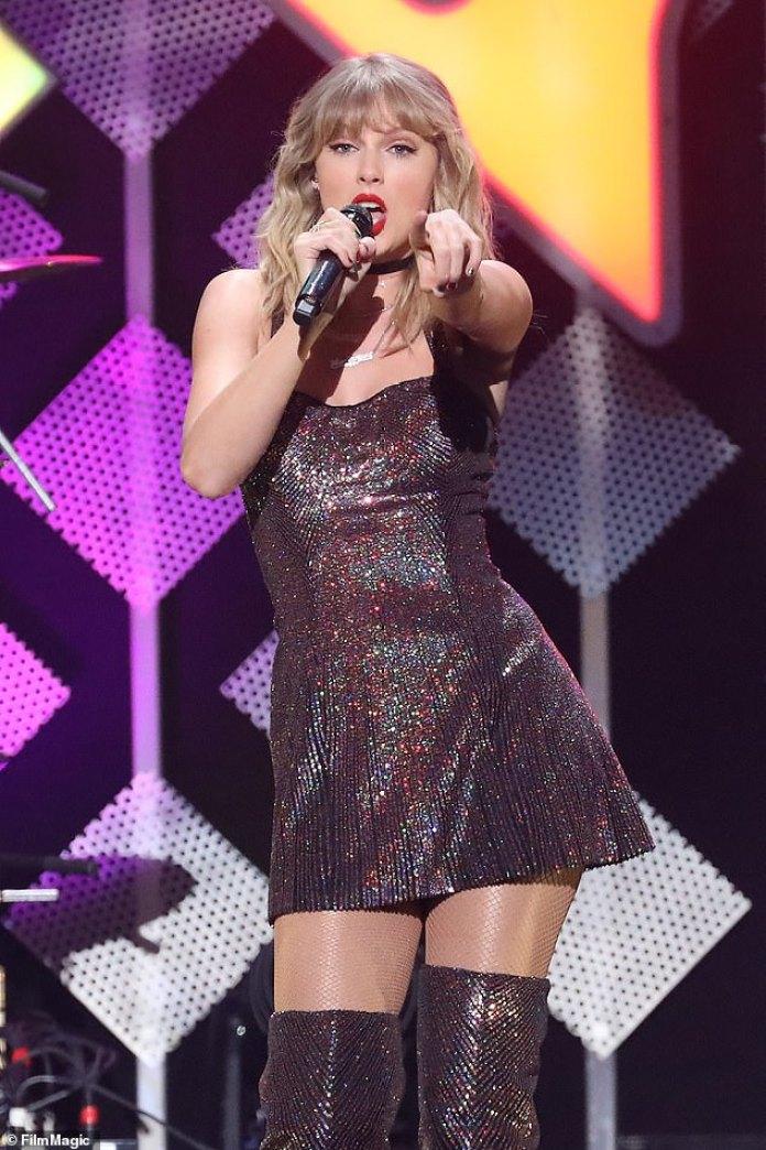 Axed: después de la cancelación de March Madness Thursday de la NCAA, se anunció que la aparición de Taylor Swift en el festival de música JamFest también se ha eliminado.
