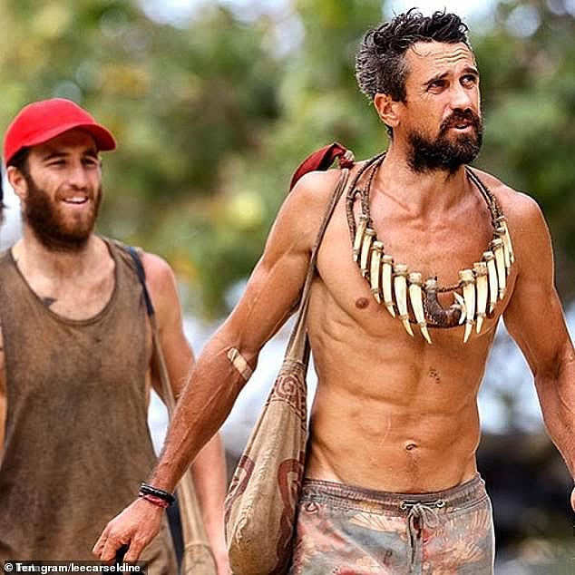 'There was nothing in the tank!' Australian Survivor's Lee (pictured) said that the show destroyed his sex drive and left him unable to get an erection
