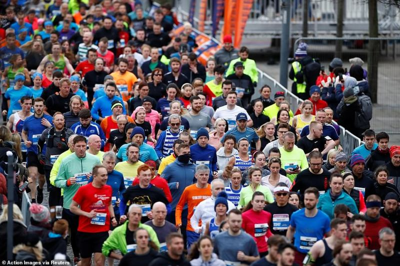 Liverpool Half Marathon & 10 Mile runners in action on Sunday as the marathon goes ahead despite the number of coronavirus cases growing around the world