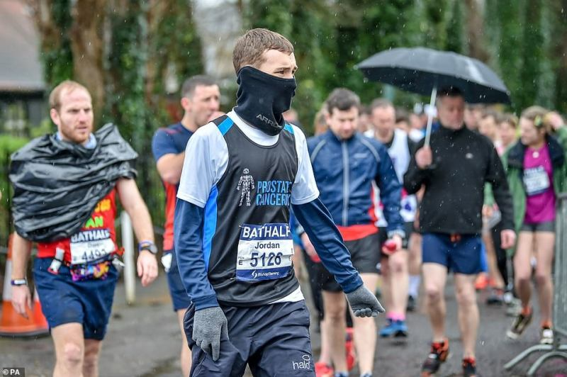 The Bath Half marathon was one of only a few sporting events to take place this weekend following cancellations to Premier League and English Football League soccer matches