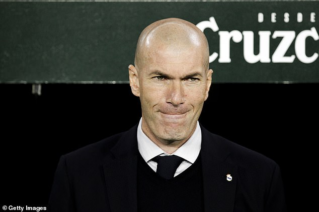 Zindine Zidane is reportedly looking for cover in midfield in order to rest Casemiro more