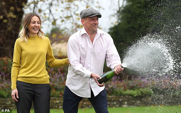 Steve Thomson, 42, and his wife Lenka, 41, said they didn't want becoming overnight multi-millionaires to change them, and have refused to buy anything 'too flash'.