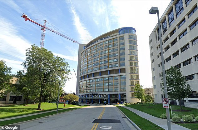 Two hundred patients and health care workers at Children's Hospital of Wisconsin (pictured)have been tested after a doctor was infected with the virus