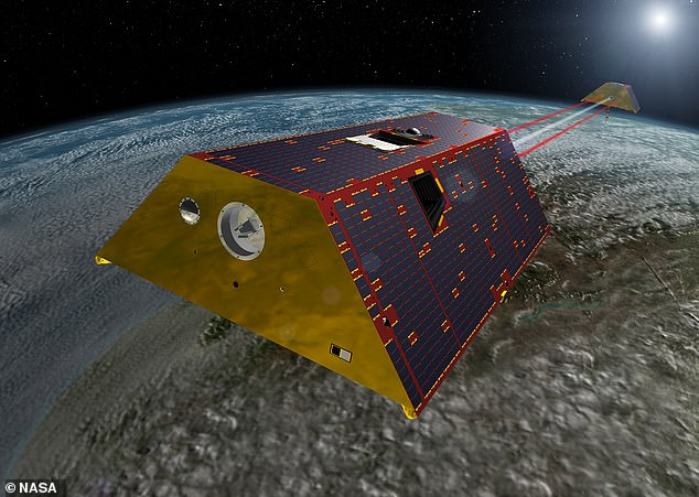 In their study, Professor Velicogna and colleagues studied data from the late Gravity Recovery and Climate Experiment (GRACE) satellites, as well as its successor, GRACE Follow-On (GRACE-FO). Pictured, an artist's impression of the GRACE-FO satellites