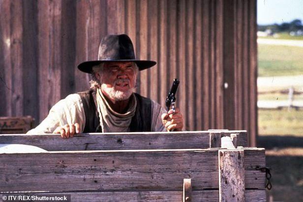Multi-talented: Rogers had quite the career as he starred in TV film Rio Diablo in 1993