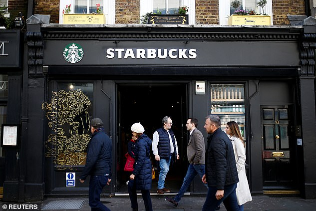 Starbucks said reopened stores will offer Starbucks basic beverage line and limited food line