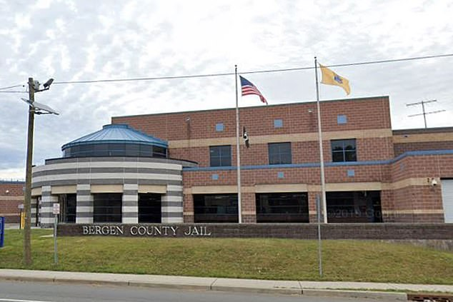 In other states, 'low-risk' jail inmates are being released to help tackle the coronavirus pandemic. On Monday, New Jersey announced such plans to release inmates in an order that would mean that a 1,000 jailed people could be out by Thursday. Bergen County Jail is pictured