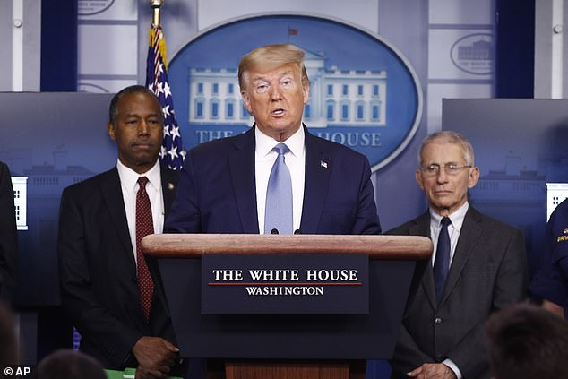 But large-scale anti-American sentiment significantly increased after President Trump launched a trade war against China last year.President Donald Trump speaks during a coronavirus task force briefing at the White House on Saturday