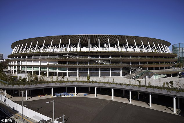 The new National Stadium in Tokyo will now be waiting another 12 months for Olympic action