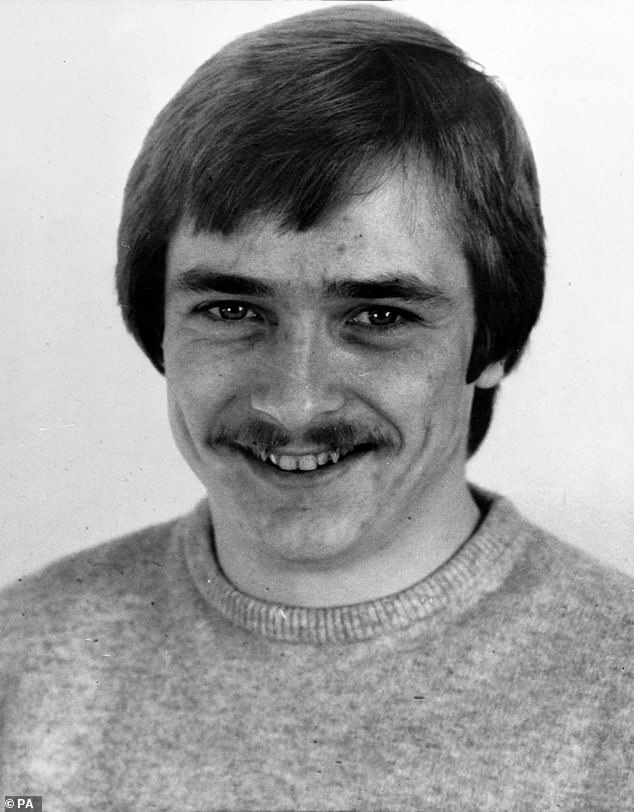 Pictured: Russell Bishop, who sexually assaulted and killed the nine-year-old schoolgirls in Brighton, before waiting 31 years to be brought to justice
