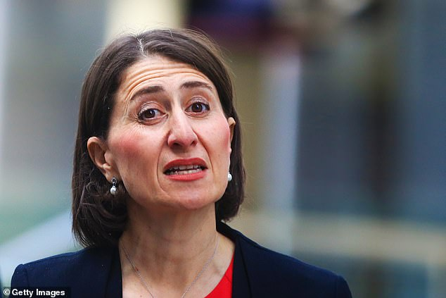 NSW Premier Gladys Berejiklian speaks at a press conference during COVID-19 crisis