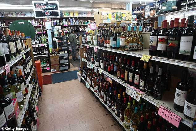 Don't worry - we're stocked! Despite the crowds, shops in Denver remained well stocked on Monday