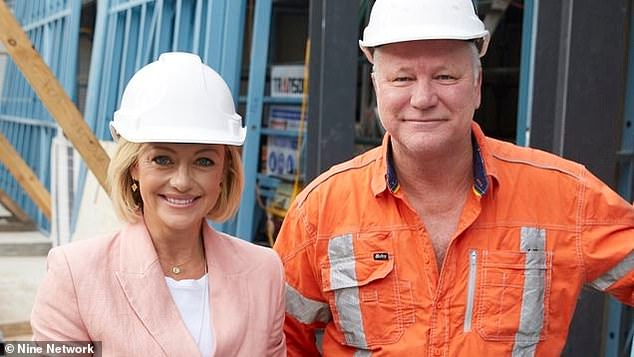 'They're all on site. They are self contained and self isolating as a group, so that will go ahead':Nine News boss Darren Wick also appeared on the podcast on Tuesday, where he said The Block was continuing with filming