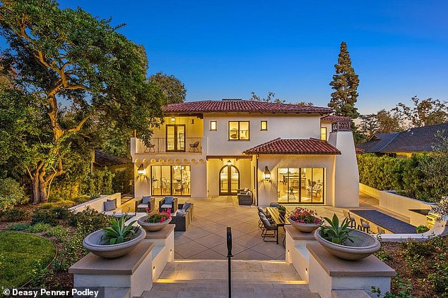 Home sweet home: Shia LaBeouf is the proud new owner of a $5.475 million Mediterranean-style villa in Pasadena, California