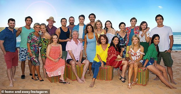 Seven's long-running soap Home and Away shut down its production this week