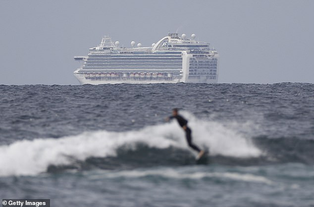 Passengers on another cruise ship to dock in WA on Friday will be quarantined after the Ruby Princess (pictured) debacle