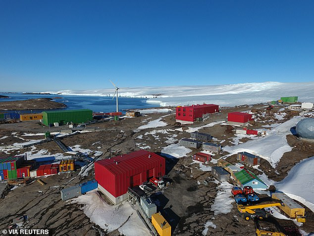 All expeditioners who travel to Antarctic must undergo a mandatory 14-day screening period (Mawson research station is pictured, March 20, 2020)