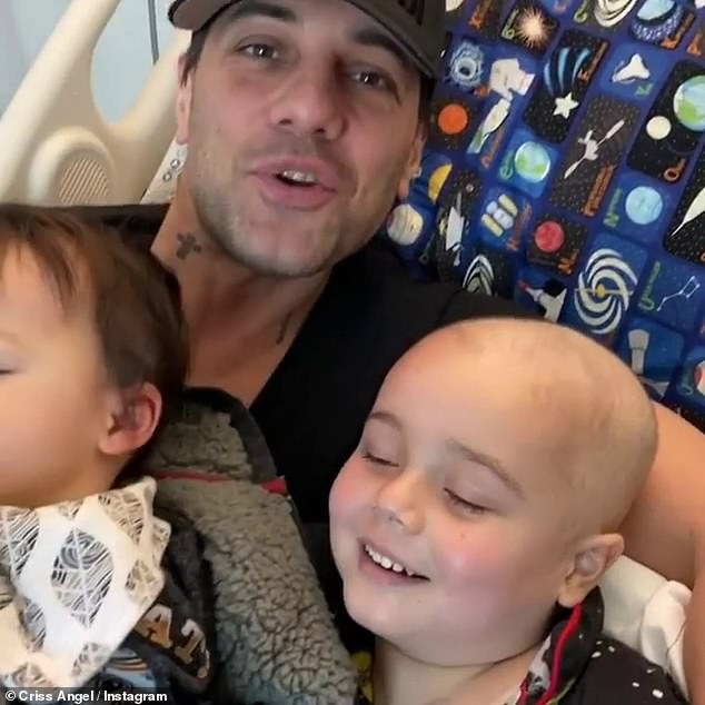 Criss, 52, called off his RAW March Tour so as to limit exposure to COVID-19. His son is more vulnerable to the virus because his white blood cell count is low