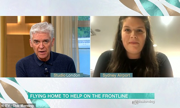 Laura told how it had been an 'emotionally charged situation' trying to get a flight out of Australia, as her planned British Airways flight with a stopover in Singapore was cancelled