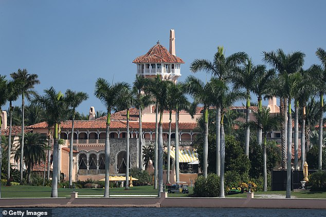 Trump's Mar-a-Lago resort, sometimes called the White House, in Palm Beach, Florida. He vacations here several times throughout the year and has even changed his residency from New York to Florida