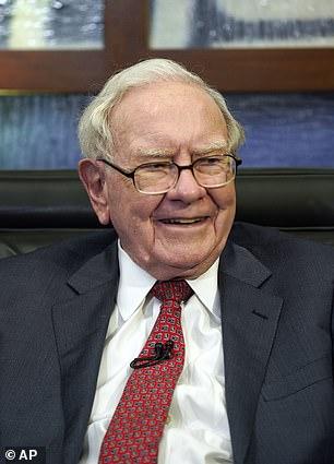 American philanthropist Warren Buffet (above) has lost $19.1 billion